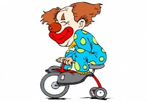 clowns malvorlagen gratis