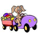 Osterhase im auto 88