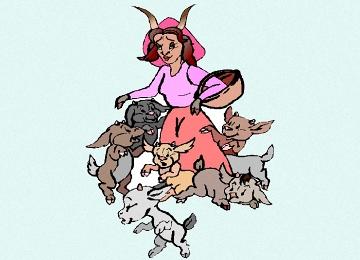 Der Wolf Und Die Sieben Geisslein Marchen