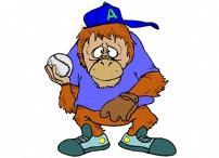 Affen Comic Malvorlagen
