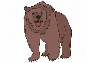 Bären Malvorlagen Kostenlos