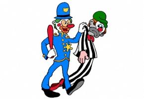 Malvorlagen Clowns