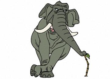 Elefanten Ausmalbilder