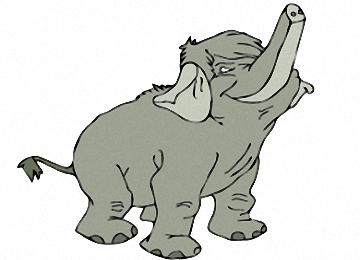 Malvorlagen Elefanten Ausmalbilder