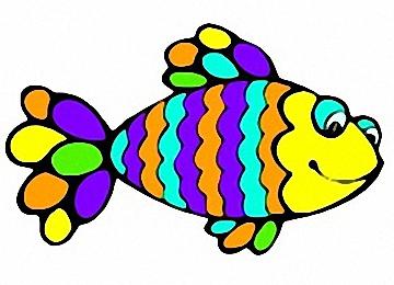 Malvorlagen Regenbogenfisch
