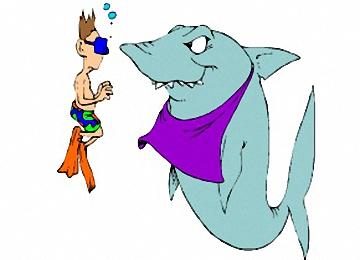 Malvorlagen Haie Kostenlos Ausdrucken