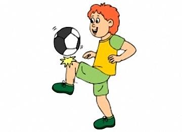 Ausmalbilder Fussballspieler Gratis