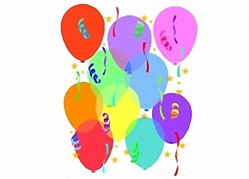 Ausmalbilder Geburtstag Luftballon