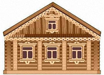 Malvorlagen Erwachsene Blockhaus