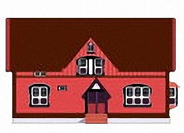 Malvorlagen Erwachsene Häuser