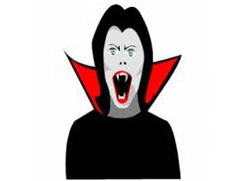Ausmalbilder Halloween Vampir