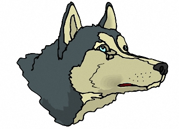Malvorlagen Wolf Kopf