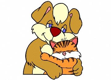 Ausmalbilder Hunde Und Katzen