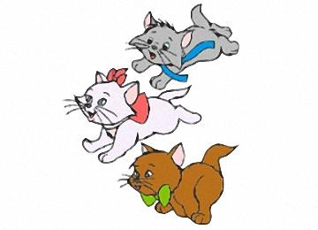 Katzenbabys Ausmalbilder