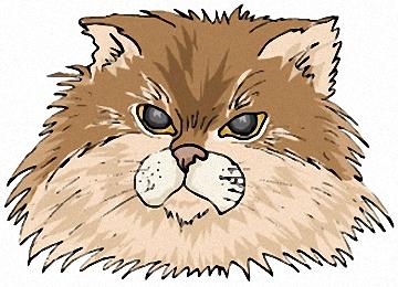 Malvorlagen Katzenkopf