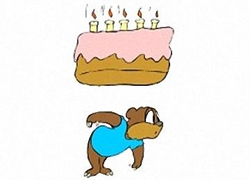 Ausmalbilder Kindergeburtstag Geburtstagstorte