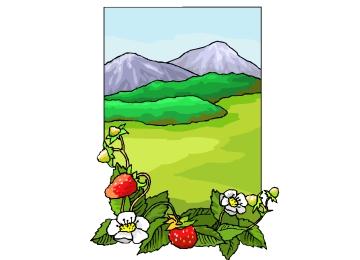 Ausmalbilder Blumenwiese Zum Ausdrucken