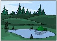 malvorlagen landschaften gratis