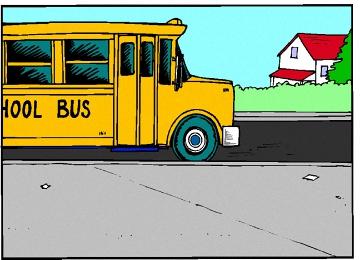 Malvorlagen Schulbus
