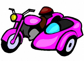 Malvorlage Motorrad Mit Beiwagen