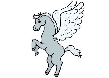 Fentserbilder Vorlagen Pegasus
