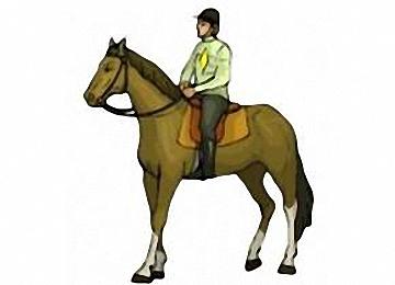 Malvorlagen Pferde Mit Reiter