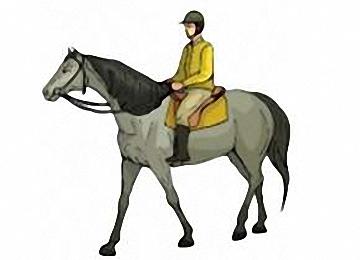 Pferde Malvorlagen Mit Reiter