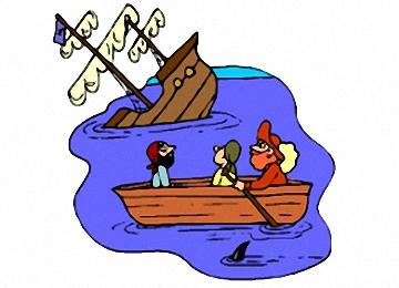 Ausmalbilder Kinder Piraten