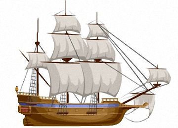 Ausmalbilder Piratenschiff Kostenlos