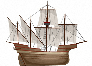 Window Color Vorlagen Piratenschiff