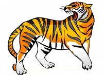 Tiger Malvorlagen Kostenlos Ausdrucken