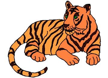 Ausmalbilder Tiger Und Löwen