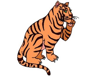 Ausmalbilder Tiger Zum Ausdrucken