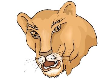 Malvorlagen Löwenkopf