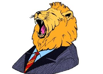 Löwenkopf Malvorlage