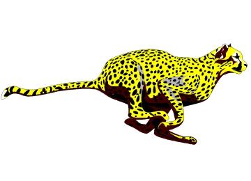 Malvorlagen Gepard
