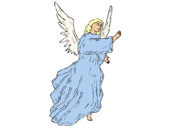 Engel Ausmalbilder Kostenlos