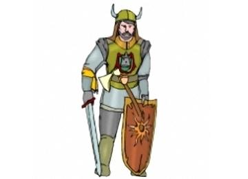 Malvorlagen Ritter Schild