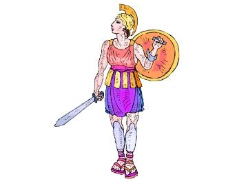 Ausmalbilder Romische Soldaten