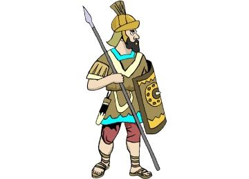 Malvorlagen Romischer Soldat