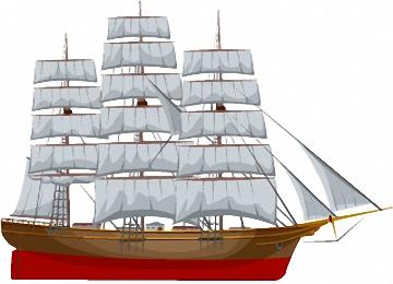Ausmalbilder Für Erwachsene Segelschiffe