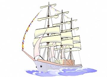 Malvorlagen Erwachsene Segelschiffe