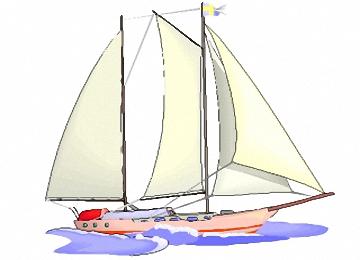 Malvorlagen Segelboote