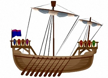 Ruderboot malvorlage  Malvorlagen Ruderboot