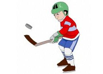 Ausmalbilder Eishockey