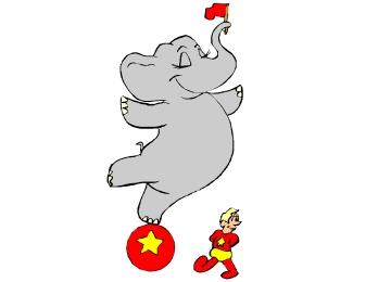 Ausmalbilder Für Kinder Elefant