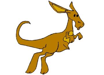 Ausmalbilder Für Kinder Känguru