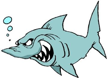Window Color Malvorlagen Weißer Hai