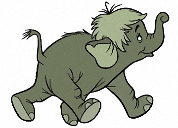 Tiere Ausmalbilder Elefanten