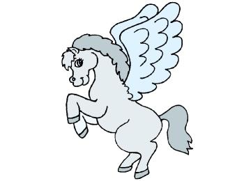Tiere Ausmalbilder Pegasus